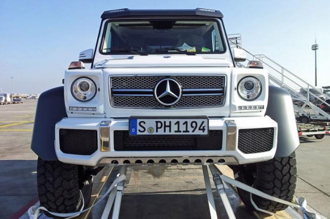 lebanonoffroad – mercedes g63 amg 6×6: when 4 wheels aren't