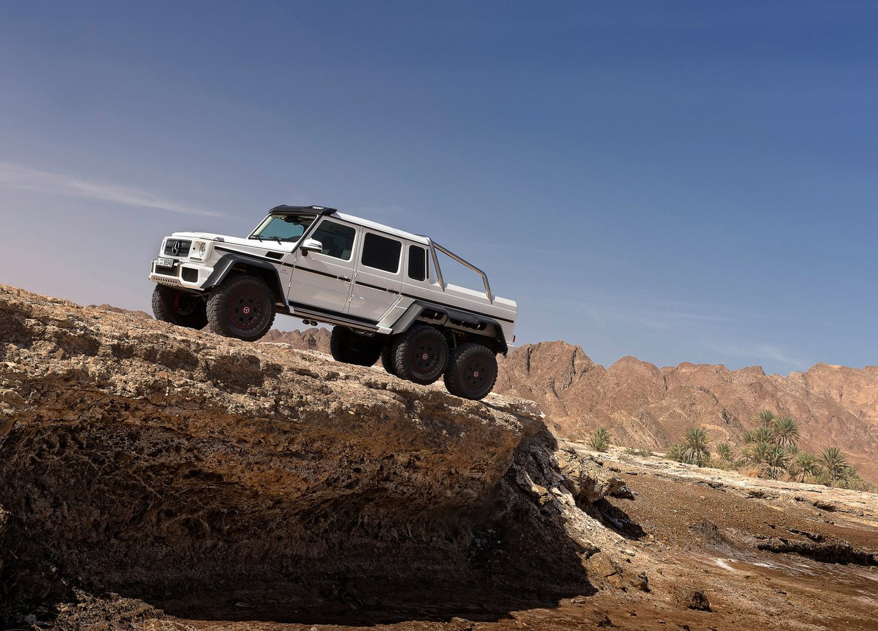 Mercedes G63 Amg 6 6 When 4 Wheels