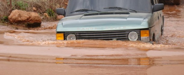 Tips: Driving Off Road in deep water