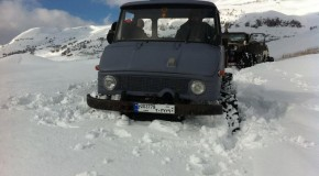 Album- Unimog and monsters on snow
