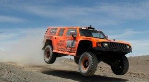 Dakar 2012- Robby Gordon Stunt at Lima