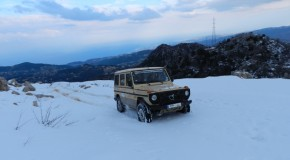Album- G class with V8 430 on snow