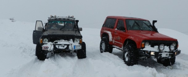 OffRoad on 2 meters of snow (part1 )