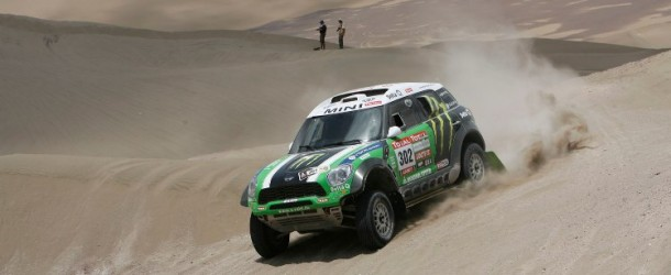 Dakar 2012, Stage 10 Mini X-raid team photos