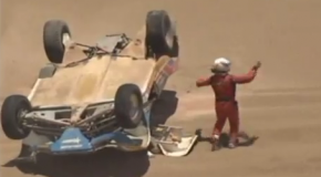 Video Dakar 2012 -Buggy crash