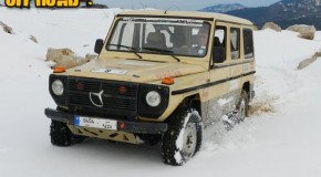 Video- G class with V8 430 on snow