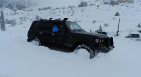 OffRoad in Ehden after the snow storm(part1)