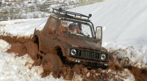 OffRoad in deep mud at Boufa Ehden
