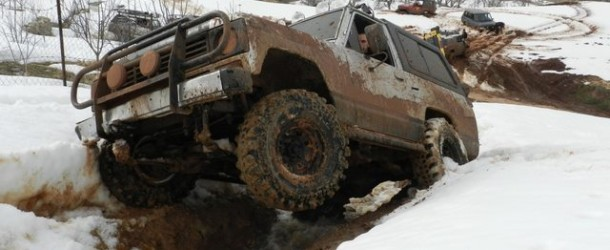Winter Off Road in Boufa Ehden