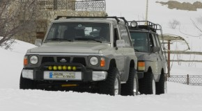 Winter Off Road in Hrajel 25/3/2012