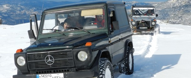 Video : Mercedes G 230 on snow