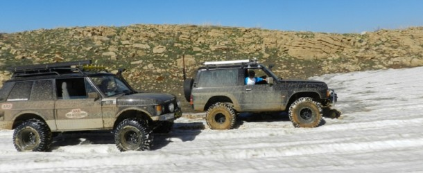 Album : Patrol and Range Rover on mud and snow