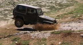 Jeep Wrangler trip to Kfardebian