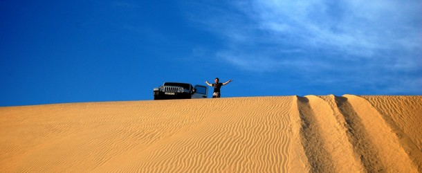 A Trip to the desert sealine &#8211; Wrangler JK