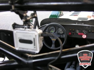 GoPro Sound Solution fitted on a Caterham R300