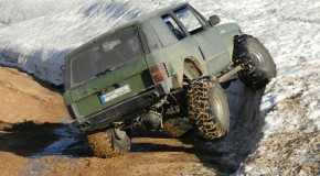 Mud and snow offroad in Kfardebian