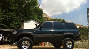 Exceptional Land Cruiser FZJ80 with Front & Rear Lockers + Winch
