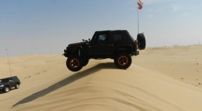 OffRoad in the desert of the Emirates