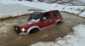 1st OffRoad trip on snow in Ehden
