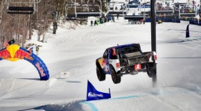 Video: 900-HORSEPOWER TRUCK ON SKI TRAILS