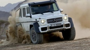 Mercedes G63 AMG 6×6: When 4 wheels aren't enough… Gallery and Video included