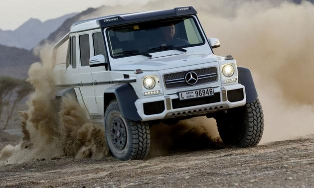 Mercedes G63 Amg 6x6 When 4 Wheels Aren T Enough