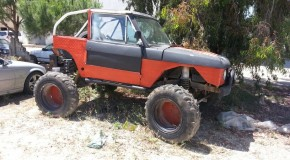 For Sale: Unimog with Range Rover body