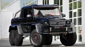 G63 AMG 6×6 too boring for BRABUS?