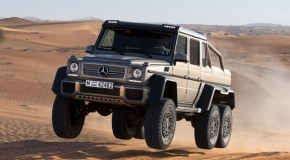 Mercedes-Benz G 63 AMG 6×6 on Top Gear