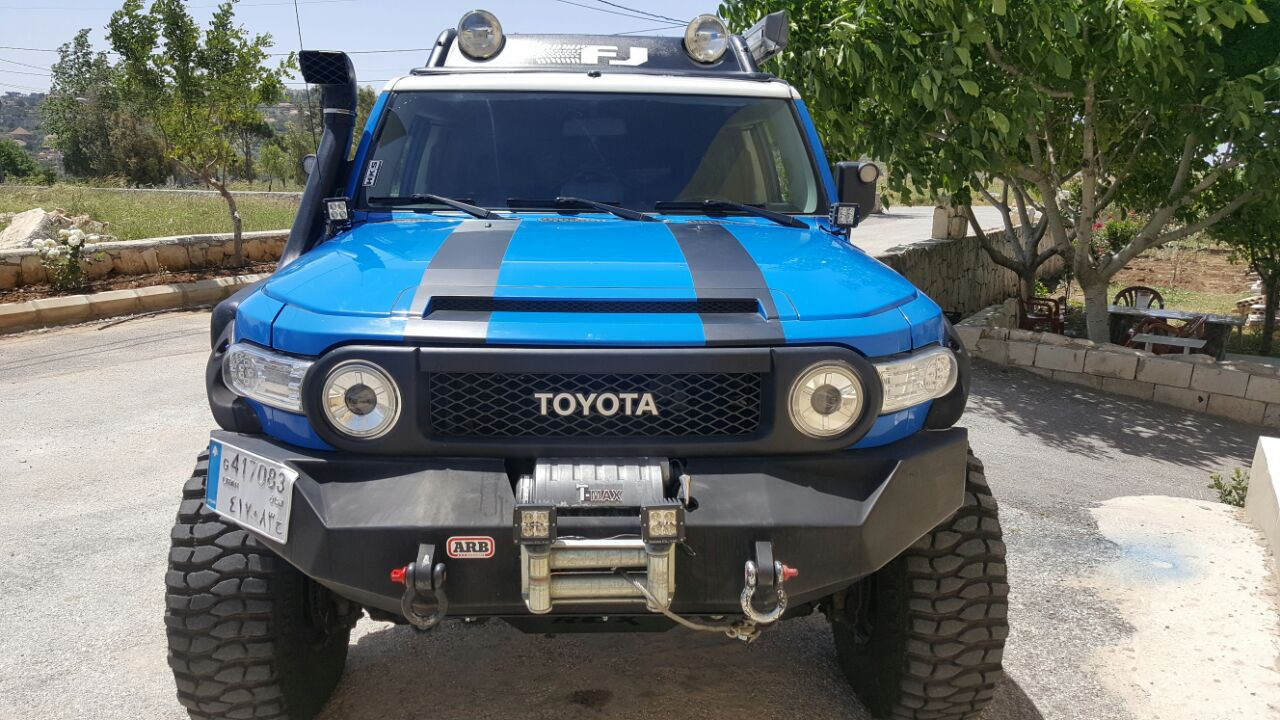 Lebanonoffroad Com For Sale Modified Toyota Fj Cruiser