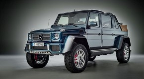 News : The new Mercedes-Maybach G650 Landaulet