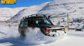 Video : Range Rover Classic wheeling in deep snow
