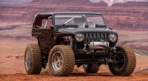 HOT ROD-INSPIRED QUICKSAND CONCEPT AT THE 2017 EASTER JEEP SAFARI